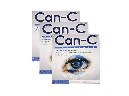 CAN-C Eye Drops 2x 5ml Vials - 3 PACK