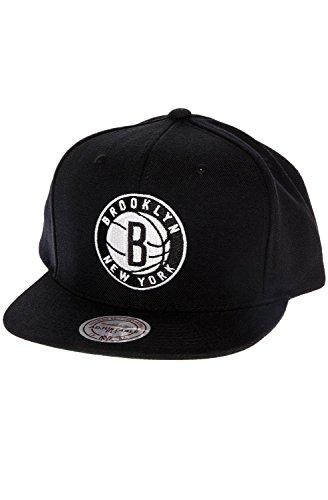 Mitchell & Ness Men's Brooklyn Nets Solid Snapback Cap – Sports Center Store