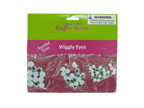 Craft wiggle eyes-Package Quantity,72