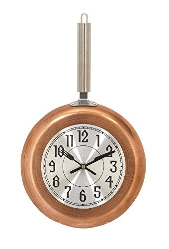 Deco 79 98438 Round Iron Wall Clock, 17