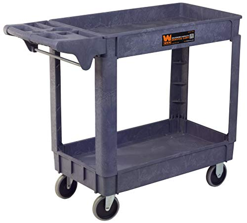 WEN 73002 500-Pound Capacity 40 by 17-Inch Service Utility Cart from WEN
