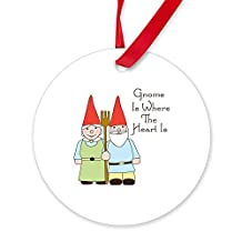 CafePress - Where The Heart Is Ornament - Round Ornament