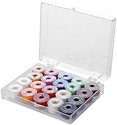 NO LOGO HMLSM 20pcs Coloridas Hilos de Coser de plástico + 20 ...