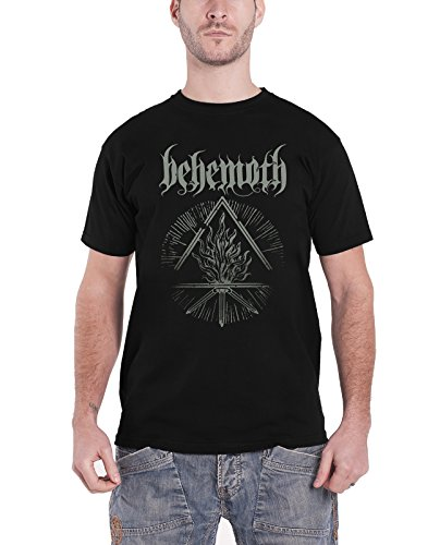Behemoth Furor Divinus logo new Official Mens Black T Shirt