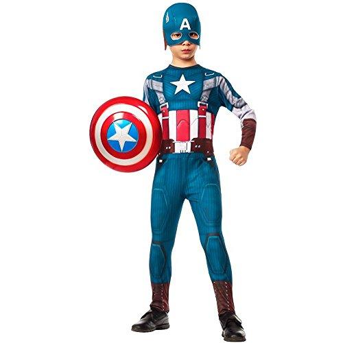 Captain America Retro Kids Costume - Large