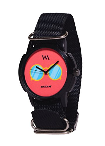 Watch Me Nylon Multicolor Analog Watches for Mens WMAL 289 BC BK