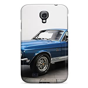 Flexible Tpu Back Case Cover For Galaxy S4 - Shelby Gt500 Kr '1968