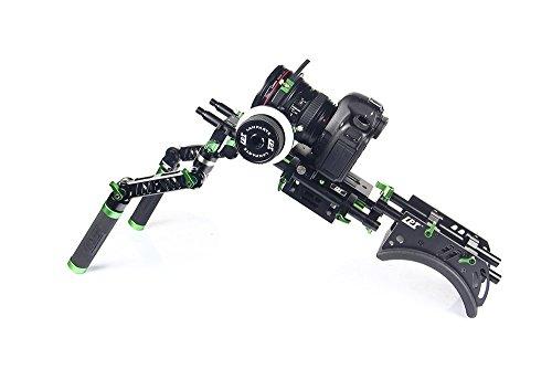 Lanparte BSK-01 Starter DSLR Camera Rig Kit (Black) by LanParte