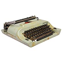 Global Art World Vintage Functional Remington Portable Typewriter In Working Condition HB 0103