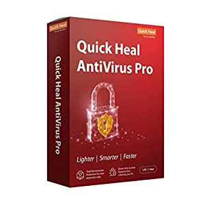 Quick Heal Antivirus Pro Latest Version – 1 PC, 1 Year (CD/DVD)