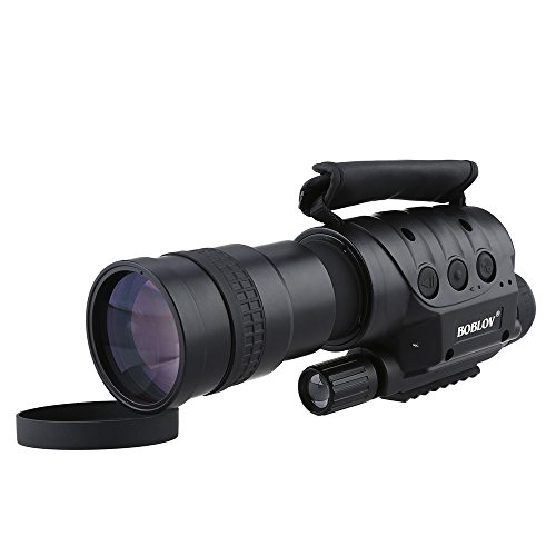 Portable Digital NV-760D+ Handheld Infrared Digital Night Vision IR Monocular Telescopes 7x60 DVR Record With Sony CCD Array Effective 300-700 Meters 4GB Card For Surveillance (7X) (Digital Night Vision Dvr)