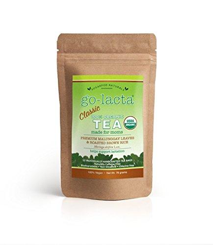 Go-Lacta 100% Organic Classic Tea The Original Pure Premium Malunggay (Moringa oleifera Lam.) Tea
