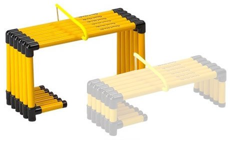 Prism Fitness Group SMART Hurdles - 12'' - Set of 6 by Ironcompany.com