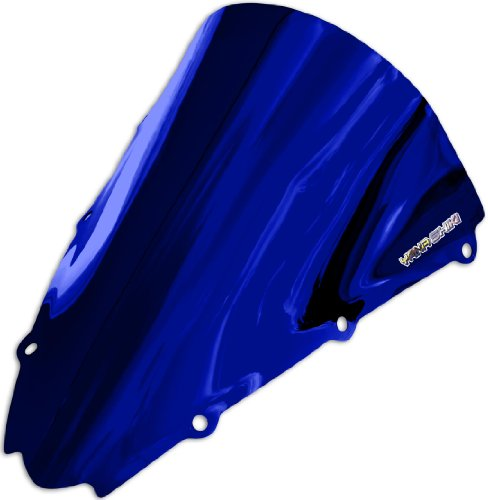 Blue Chrome Windscreen - 7