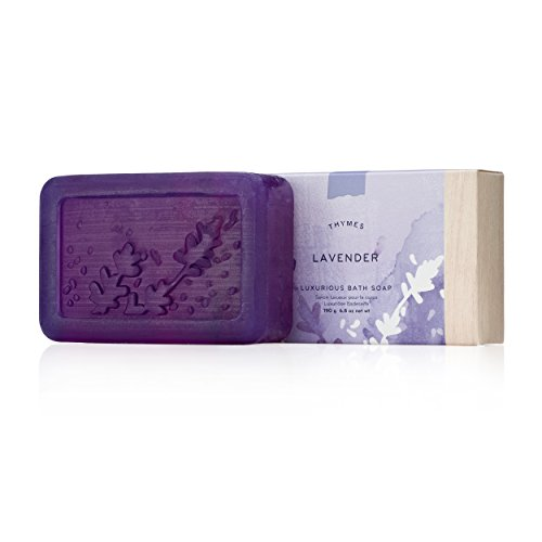 Thymes - Lavender Luxurious Bath Soap - 6 - Lavender Gift Thymes
