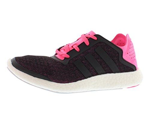 Adidas Pureboost Onthullen Damesschoenen Maat Solar Roze / Zwart / Transparant Grijs