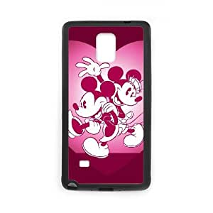 Disney Mickey Mouse Minnie Mouse Samsung Galaxy Note 4 Cell Phone Case Black Customize Toy zhm004-3924563