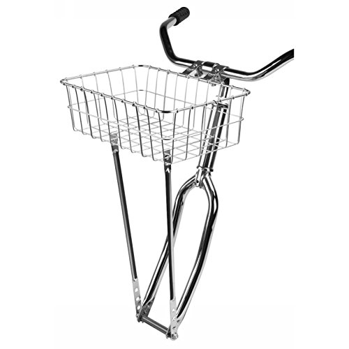 (Wald 137 Front Bicycle Basket (15 x 10 x 4.75, Silver))