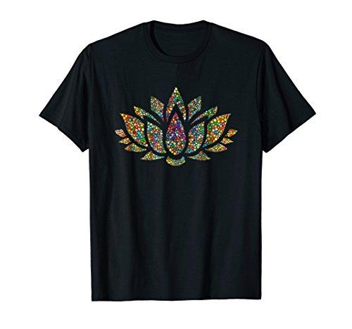 Lotus Flower Yoga Meditation Om Namaste T-Shirt