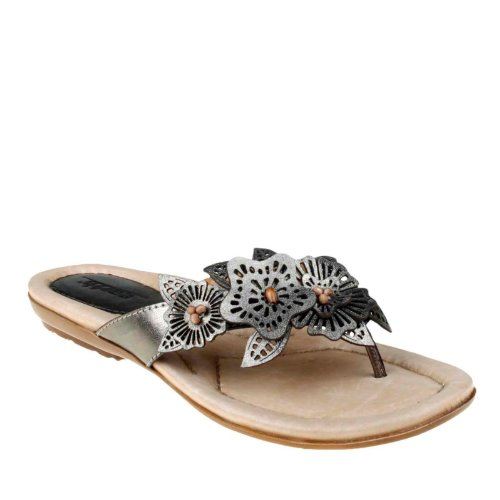 Earth Mujeres Breeze Ballet Flat Light Pewter