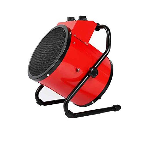 Sunny Calentador De 3000W Ventilador Calentador Eléctrico Industrial con 3 Configuraciones De Calor, A Prueba De Agua IPX4