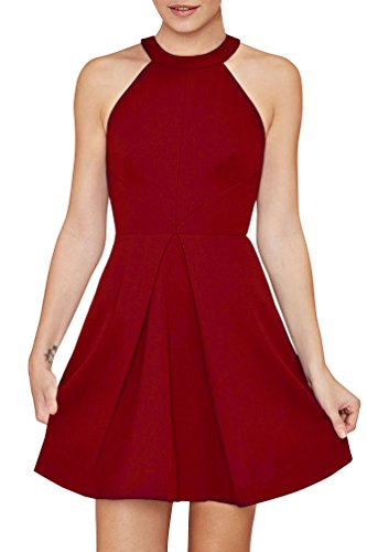 Buy halter dress cocktail - 6