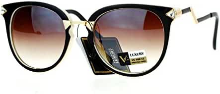 VG Occhiali Sunglasses Womens Rhinestone Arrow ZigZag Design UV400
