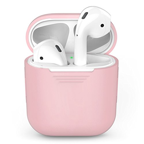 CASPTM Silicone Case for Airpods Charging Box,Shock Proof Ca
