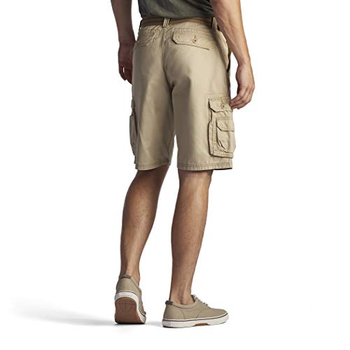 LEE Men's Big & Tall Dungarees New Belted Wyoming Cargo Short