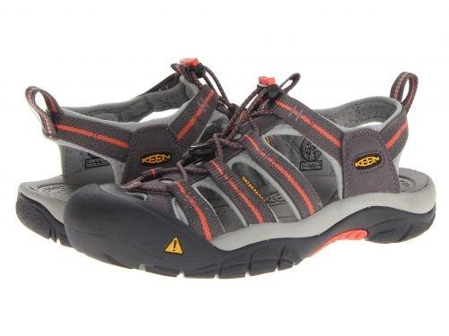 Keen(キーン) レディース 女性用 シューズ 靴 サンダル Newport H2 - Magnet/Hot Coral [並行輸入品]