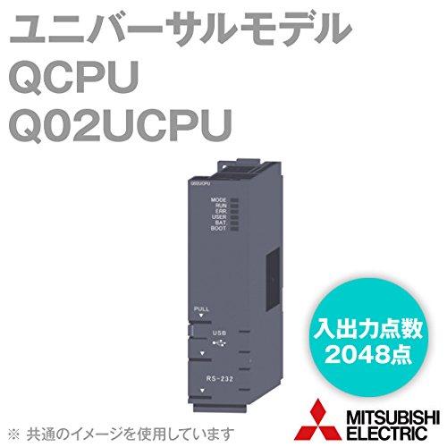 三菱電機 Q02UCPU ユニバーサルモデルQCPU Qシリーズ シーケンサ NN B007BL381E