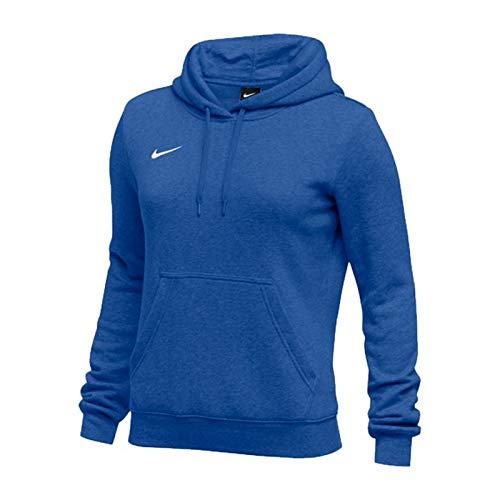 Pullover Club - Nike Womens Pullover Club Fleece Hoodie (Small, Royal)