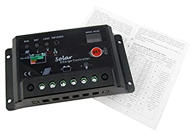 Sun YOBA Solar Charge Controller Solar Controller 10A 12V 24V