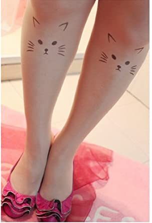 4b34955317b Naked Silky Tights Sheer Heart Printed Tattoo Pantyhose Stockings Beige  Leggings at Amazon Women s Clothing store