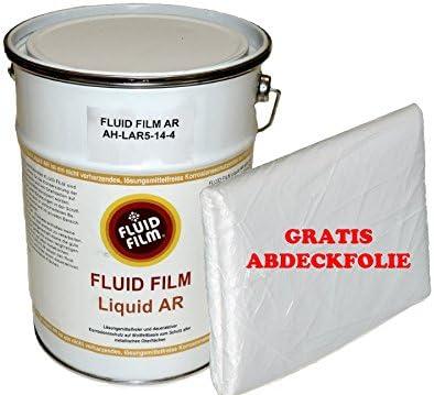 Fluid Film Liquid Ar Korrosionsschutz 5 Liter Kanister Gratis Abdeckplane Auto