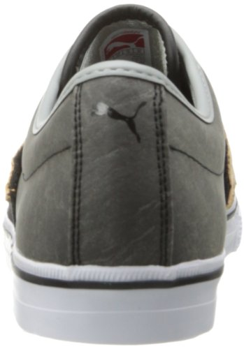 Classique Puma El limestone Black Gray Ace Cuir Sneaker Handcrafted rTrgIvBq