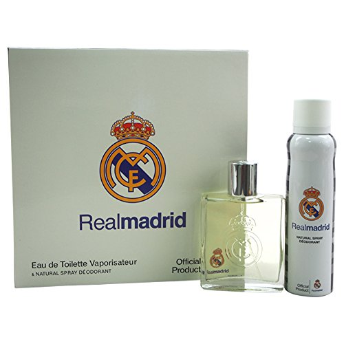 Two Piece Fragrance Set (Real Madrid 2 Piece Gift Set for Men)