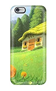 Defender Case For Iphone 6 Plus, House Pattern