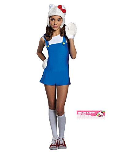[Hello Kitty Girl's Costume, Small] (Hello Kitty Child Costumes)