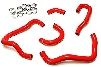 HPS 57-1415-BLK Black Silicone Heater Hose Kit (Coolant) HPS Silicone Hoses