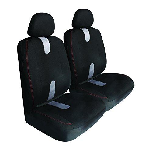 UPC 757558293940, Pilot Automotive SC-438E Black 6-Piece Pro Comp Mesh Seat Cover Set