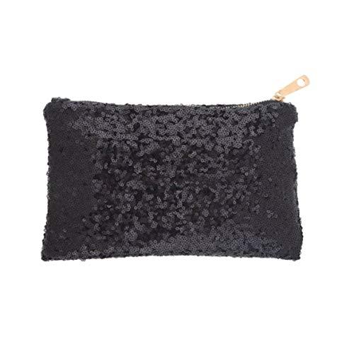 sera glitter Heaviesk nera scintillanti borsa da paillettes frizione abbagliante Popolare aR8xFw