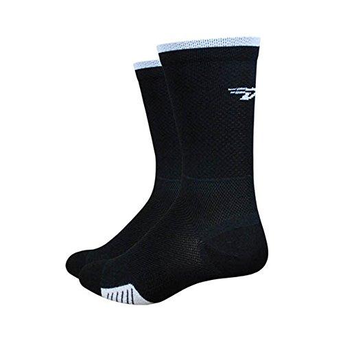 UPC 682864358529, DeFeet Cyclismo 5in Sock Black/White Stripe 2, M - Men's