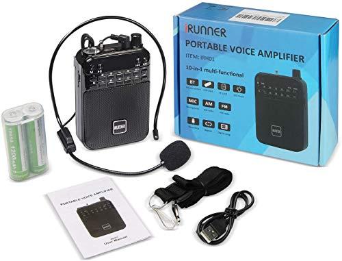 IRUNNER Voice Amplifier Ultralight