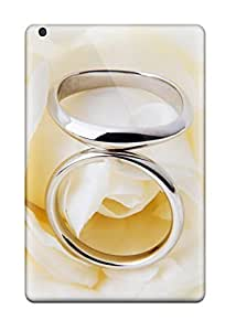 NewArrivalcase White Rose Rings Feeling Ipad Mini/mini 2 On Your Style Birthday Gift Cover Case