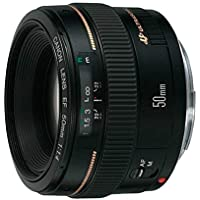 Lente EF, Canon, 50mm f/1.4 USM, Preta