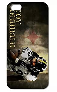 The NFL stars Troy Polamalu from Pittsburgh Steelers team custom For SamSung Galaxy S5 Mini Case Cover