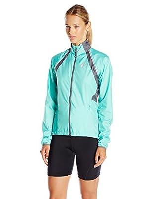 Pearl Izumi - Ride Women's Elite Barrier Convert Jacket, Aqua Mint/Smoked Pearl, Large by Pearl Izumi - Ride