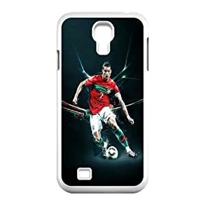 Sport Real Madrid Club de Futbol Cristiano Ronaldo Print Black Case With Hard Shell Cover Protective Case 52 For SamSung Galaxy S4 Case At ERZHOU Tech Store