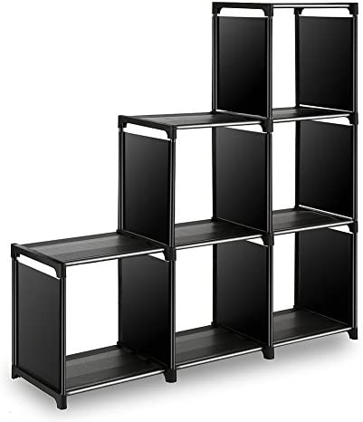 picture of TomCare Cube Storage 6-Cube Closet Organizer Shelves Storage Cubes
